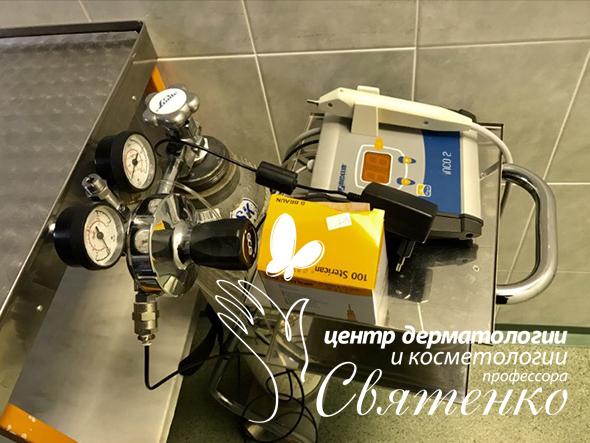 Оборудование используемое при карбокситерапии в Днепре