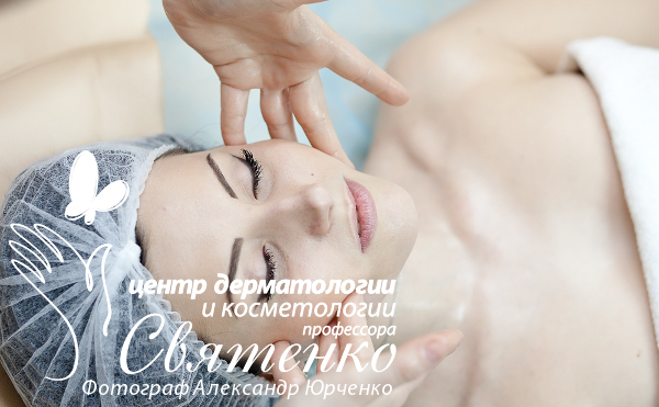 Изображение методики криомассажа лица в городе Днепропетровске нашим косметологом.