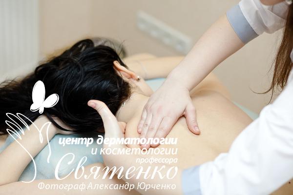 Лимфодренажный массаж снижающий отеки тела.