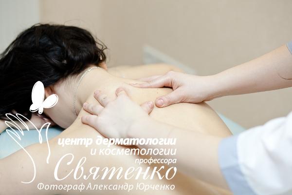 Массаж спины в Днепропетровске: массажист Светлана Кононова.