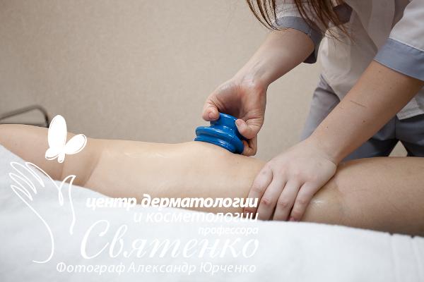 Использование вакуумного массажа (массажист С. Кононова).