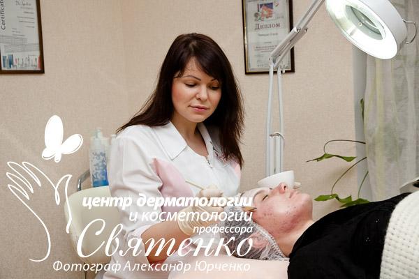 Лечение акне (угревой болезни) у подростков в Центре дерматологии и косметологии профессора Святенко.